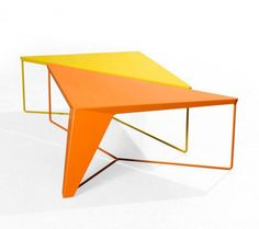 designer Alain Gilles has designed the table Tension for Galerie Gosserez