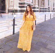 #traveldress #versatiledress #maxiromper #yellowlace #nordstrom #socialite #travelclothes #perfectdress Yellow Maxi, Maxi Romper, Travel Dress, Plunging Neckline, Lace Overlay, Ankle Length, Nordstrom, Rompers, Boho