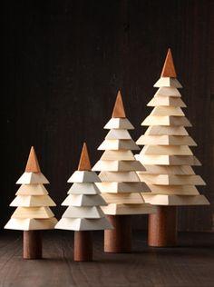 Warm wooden tree travel Handicraft