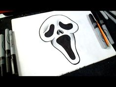 How to Draw V for Vendetta - YouTube