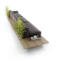 The MUS Sofa by Francesc Rifé for KOO International http://www.rife-design.com/