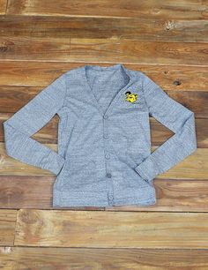 Stay toasty in those chilly Baylor classrooms or on game night in this cute little cardi. Perfect to show off your Bear spirit, even when covering up! Sic'em, Bears!!