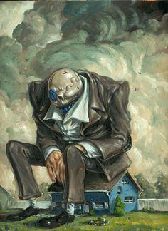 The art of JONATHAN BERGERON - 2011 Paintings