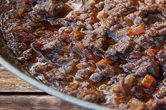 Get Sugo di Cinghiale: Wild Boar Sauce Recipe from Cooking Channel Ic Recipes, Wild Game Recipes, Other Recipes, Sauce Recipes, Meat Recipes, Italian Recipes, Cooking Recipes, Nopalitos Recipe, Maque Choux Recipe