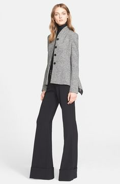 Stella McCartney 'Dakota' Wide Leg Flare Pants | Nordstrom