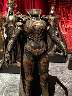 Faora's armor from Man Of Steel at a costume exhibit. Larp, Fantasy Armor, Medieval Fantasy, Cosplay Armor, Cosplay Costumes, Costume Armour, Armor Clothing, Armadura Medieval, Female Armor