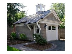 Garage remodel 44 Best Small Cottage House Exterior 25 Mit Garage Im Jahr 2019 Choosing The Right Sc House Colors, House Design, Garage House, Exterior Design, House, Garage Doors, Curb Appeal, Small Cottage Homes, House Exterior