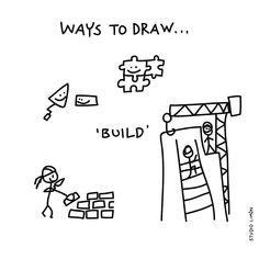 Build a nice weekend! Word of day 81: build. . . #365waystodrawfestival #build #bouwen #illustratie #illustration #tekening #waystodraw #icons #sketchnote #visualnote #graphicrecording #getekendverslag #getekendenotulen #zakelijktekenen #visuelenotulen #visueelnotuleren #tekening #studiolimon #haarlem #amsterdam #denbosch