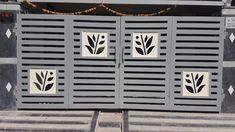 Compound Wall Gate Design, Gate Wall Design, Front Gate Design, Steel Gate Design, Iron Main Gate Design, House Main Gates Design, Main Door Design, Home Grill Design, Grill Gate Design