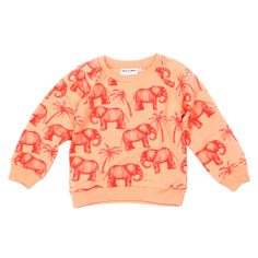 Elephant sweatshirt.  I love elephants.  And sweatshirts.