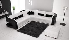 black and white sofa set designs for modern living room interiors New catalogue for modern sofa set design ideas for modern living room furniture designs How to choose a living room sofa sets for your home decor (size, color, style, upholstery) Black And White Sofa, White Sofa Set, Couch Set, Sofa Set Designs, Modern Sofa Designs, Corner Sofa Living Room, Living Room Sofa Design, Living Room Modern, Living Rooms