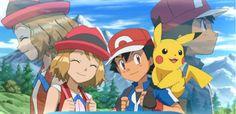 Ash y Serena Pokemon People, Ash Pokemon, Pokemon Ships, Pokemon Funny, Cool Pokemon, Pokemon Poster, Pokemon Ash And Serena, Ashes Love, Pikachu Art