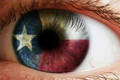 Lone Star Contact Lenses Because The Eyes Of Texas Are Upon You... ~~  Houston Foodlovers Book Club