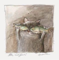 고양이 일러스트