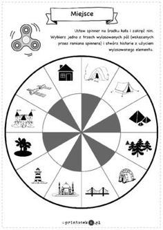 Zakręcone opowiadania - Printoteka.pl Teachers Corner, Matching Games, Games For Kids, Kids And Parenting, Storytelling, Cardmaking, Homeschool, Education, Learning