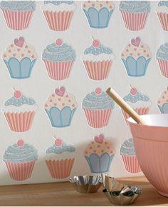 Cupcake wallpaper | Graham and Brown | Graham & Brown