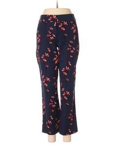 Ann Taylor LOFT Dress Pants: Size 6.00 Navy Blue Women's Bottoms - $15.99