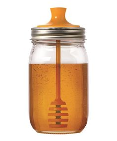 Fox Run Honey Dipper Mason Jar Topper | zulily