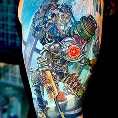 Bioshock 2 tattoo by ABT Tattoo - Imgur