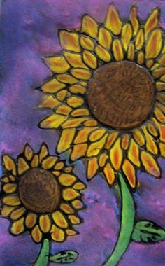 Check out student artwork posted to Artsonia from the Glue-line Sunflowers project gallery at Immaculate Conception School.