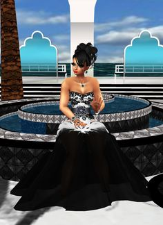 Captured Inside IMVU - Join the Fun!  HERE I AM BY HEAVEN'S WATERS, WHERE I CAN GO TO SPEND TIME WITH GOD