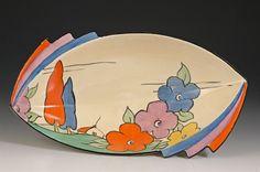 Poplar 475 shape daffodil dish C1932