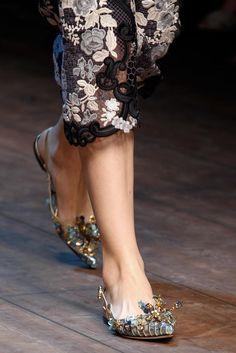 Dolce & Gabbana Fall/Winter 2014 Ready-to-Wear. #rtw #dolcegabbana #details
