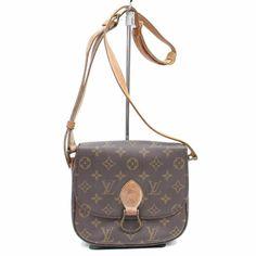 78c435898034 Authentic Louis Vuitton Shoulder Bag Saint Cloud M51243 Brown Handbag  L74CB189  LouisVuitton  ToteBag