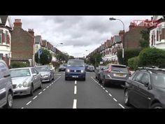Robbie Savage vs Ben Collins in the VW Fan in a Van Football Ground Challenge