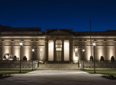 The Virginia Historical Society building at night - so beautiful! Just another reason #TheHurstTeam loves #RVA! @vahistorical