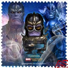 Guardians of the Galaxy Minions ~ Thanos