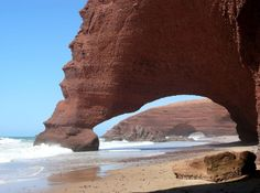 L'Arche de Legzira (près de Sidi Ifni), Maroc