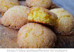 Biscotti veloci al cocco ricetta facile anche bimby vickyart arte in cucina Cornbread, Nutella, Cake Recipes, Biscuits, Bakery, Deserts, Food And Drink, Coconut, Cheese