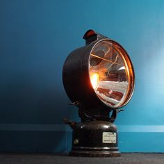 1930's Tilley Lamp – Industrial Lighting http://www.uniquevintageindustrial.com