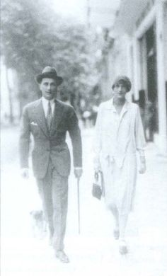 Prince Felix and Princess Irina Youssoupoff in Paris