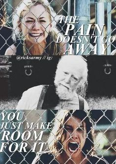 TWD- -Hershel' s death...Breaks my heart every time. :'( The most heartbreaking, traumatic thing I've ever witnessed on a TV show. The Walking Dead. Hershel Greene, Maggie Greene. Beth Greene. TWD. The Walking Dead.
