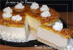 La cocina de Loli Domínguez: Tarta helada al whisky Sweet Desserts, Just Desserts, Sweet Recipes, Delicious Desserts, Dessert Recipes, Kiwi, Icebox Cake, Brownie, Almond Cakes