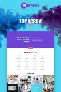 WeImpress Event Agency Elementor WordPress template is made for representing your studio, company, bureau services in the most attractive form. Design Conference, Event Agency, Wordpress Template, Best Wordpress Themes, Design Templates, Website, Creative, Projects, Life