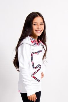 Pullover Hoodie with Logo - New Arrivals - Girls & Tweens fashion, Montreal clothing