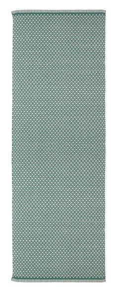 Aspegren-rug-rhombe-ocean-green-L-3004-web 100% cotton  www.aspegren.dk Rug Runner, Runners, Ocean, Rugs, Cotton, Home Decor, Hallways, Farmhouse Rugs, Decoration Home