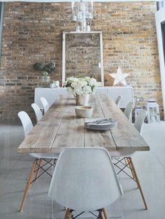 Table bois clair