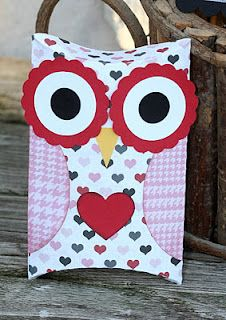 Owl pillow box