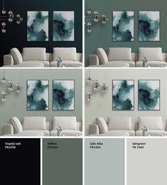 Home Decorating Online Tools Product jotun Paint Colors For Living Room, Paint Colors For Home, Dark Interiors, Colorful Interiors, Small Appartment, Neoclassical Interior, Favorite Paint Colors, Bedroom Pictures, Home Living Room