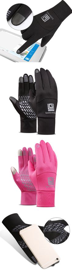 Mens&Women Touch Screen Fleece Gloves:Ski/Cycling/Windproof #outdoors #outfits #fashion