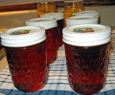Canning Peach Honey - using your leftover peach juices from the peelings!