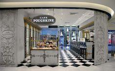 The Café Pouchkine at the Printemps Hausmann, Paris 8th ✯ ωнιмѕу ѕαη∂у