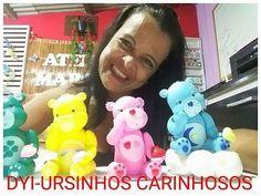 DIY-URSINHOS CARINHOSOS EM BISCUIT BY-MARCIA BISCUIT - YouTube