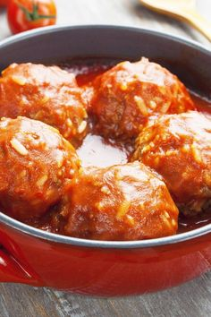 Old Fashioned Porcupine Meatballs Recipe with Tomato Soup, Rice, Onion, Ground Beef, and Worcestershire Sauce