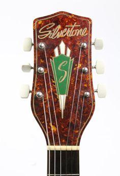 Silvertone S1348 1949 headstock| thunder road guitars