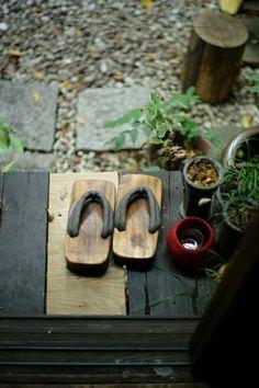 Zen Garten mit asiatischen Acccessoires